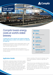 CompAir Case Study Food and Beverage Weihenstephan Brewery
