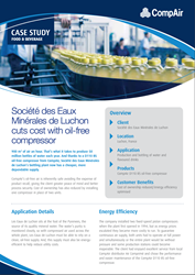 CompAir Case Study Food and Beverage Societe des eaux Minerales
