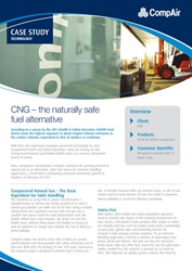 CNG - The naturally safe fuel alternative