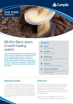 EB-Elm Baus down-to-earth heating system
