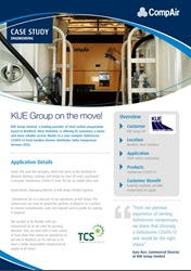 KUE Group on the move