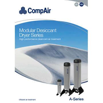 a series adsorption dryers brochure