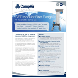 cft Dryers brochure