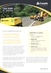 Powerful drilling systems require a powerful supply of compressed air