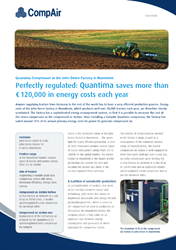 Quantima Saves More than 120000 in Energy Costs