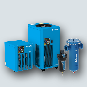 New CD series compressed air dryers and filters