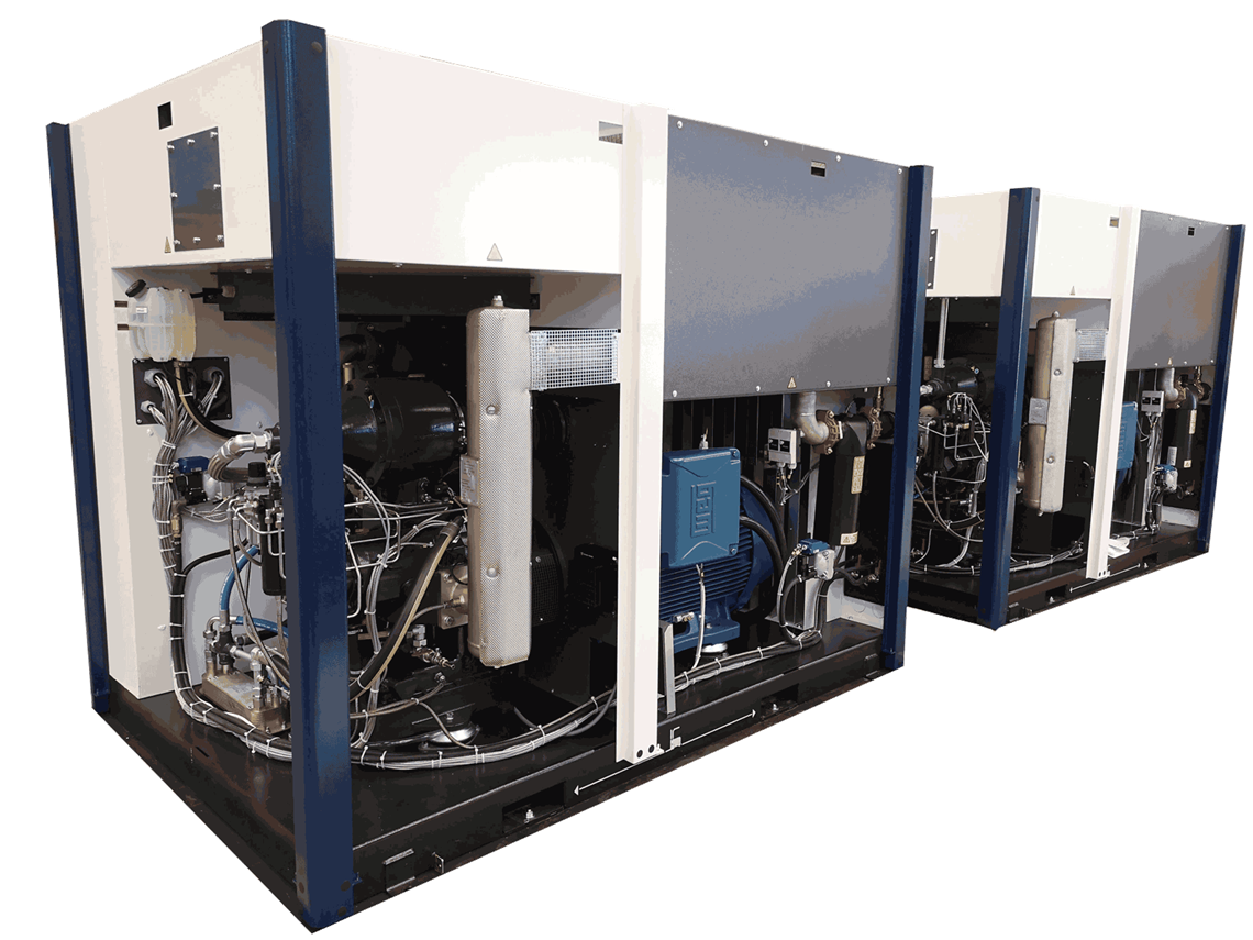Compressed air package custom engineering systems