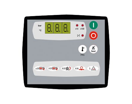 Air basic 2 compressor controller