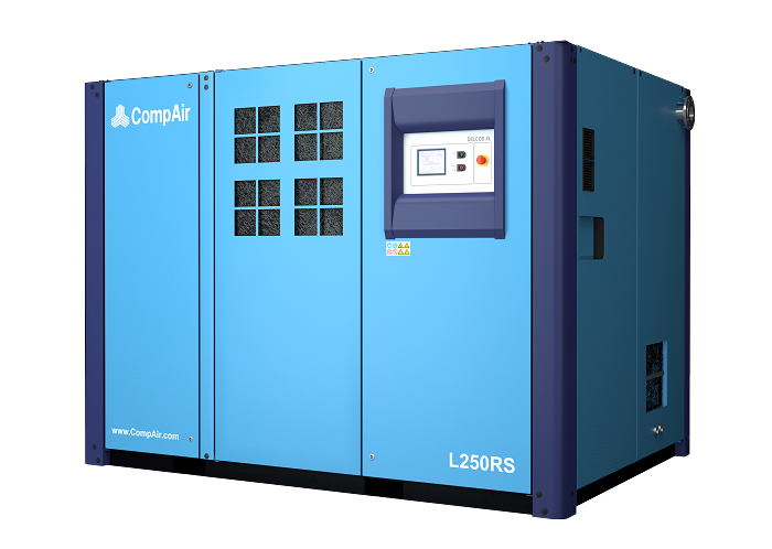 High Speed Lubricated Screw Compressors 160 - 250 kW