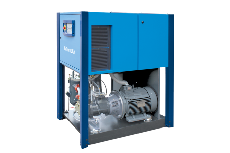 Lubricated Rotary Screw Compressor 23-29kW inside