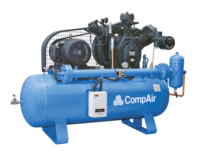 R Series air compressor installation