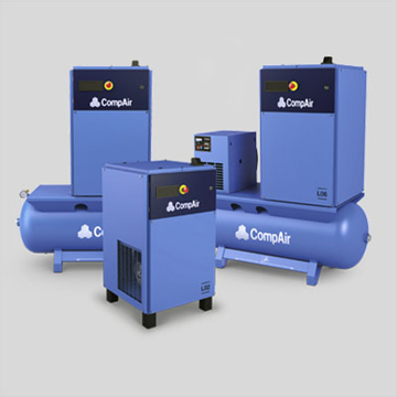 Oil lubricated 2 to 5 kw air compressor