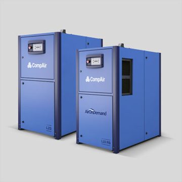 Oil lubricated 22 to 30 kw air compressor
