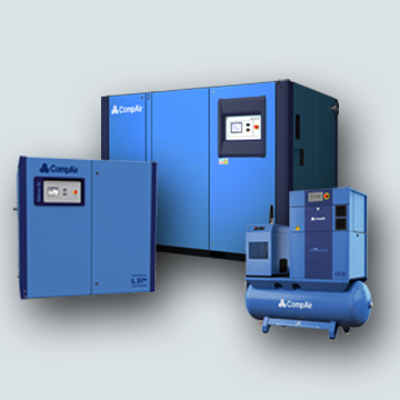 Oil Lubricated Air Compressors from CompAir