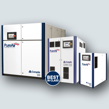 CompAir oilfree air compressor family
