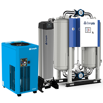 CompAir air dryers group image