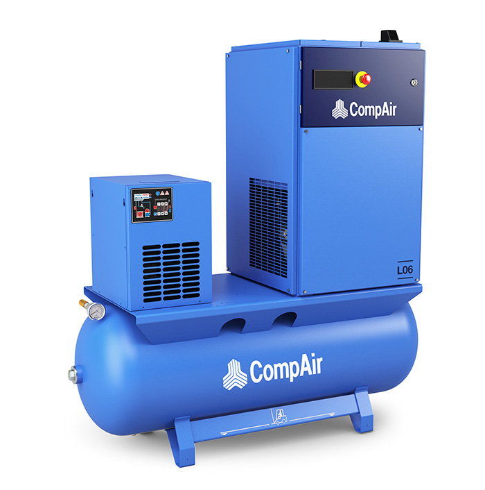 2 - 7.5kW screw air compressors