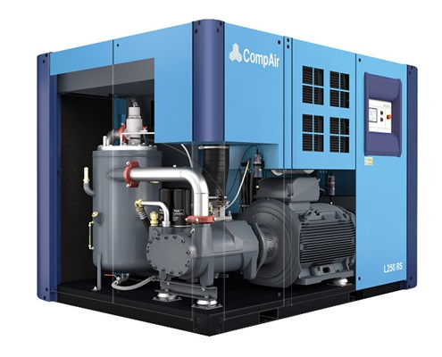Grand compresseur d'air L250RS 250 kW ouvert