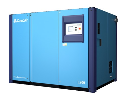 Grand compresseur d'air rotatif 200 kW