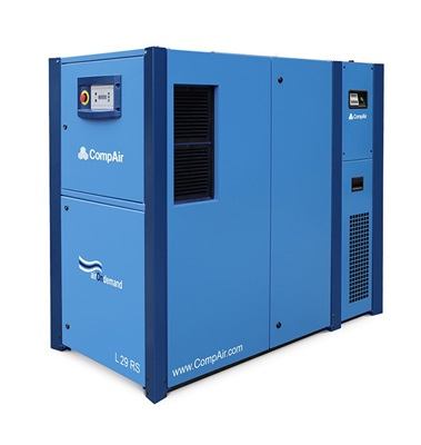 L29RS variable speed air screw compressor with dryer 30kW