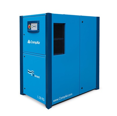 variable speed Lubricated Rotary Screw air compressor 30kW