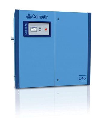 L45RS lubricated screw air compressor 45kW