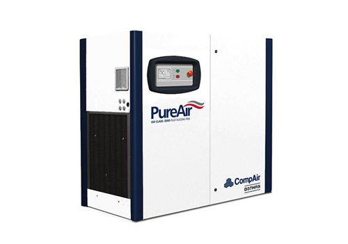 DH series oilfree screw air compressor (37kW)