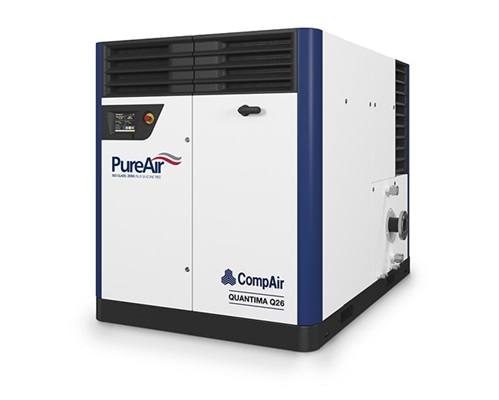 Quantima centrifugal oil free compressor
